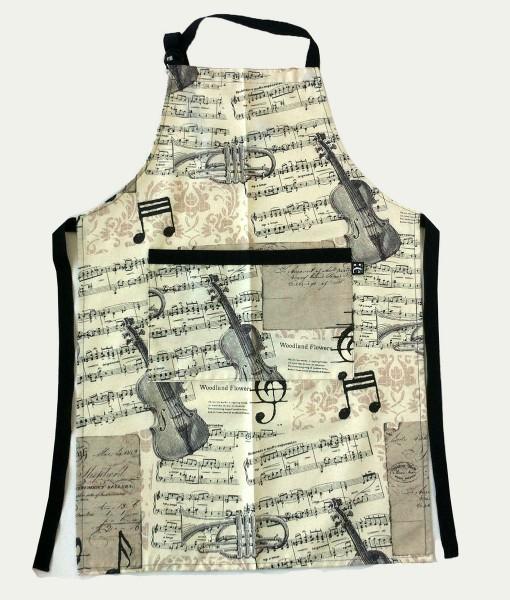 musical apron