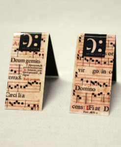 bookmark st. Cecilia made in Portugal by Music Gift