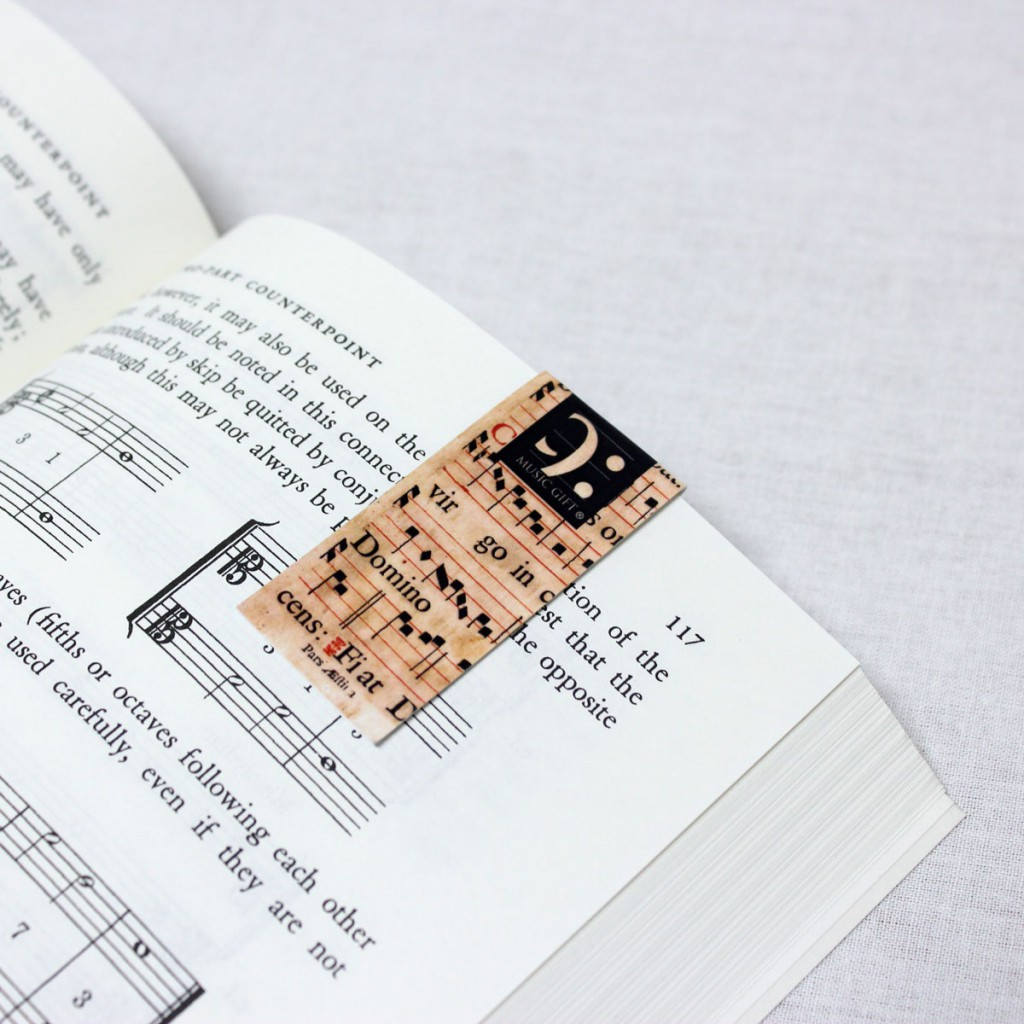 magnetic bookmark saint cecilia
