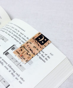 magnetic bookmark saint cecilia made in Portugal by Music Gift