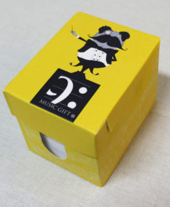 mini paper box conductor made in Portugal by Music Gift