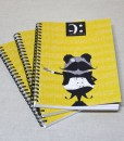 notebook a5 conductor made by Music Gift