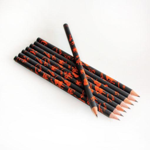 Pencil – Musical Instruments  colour