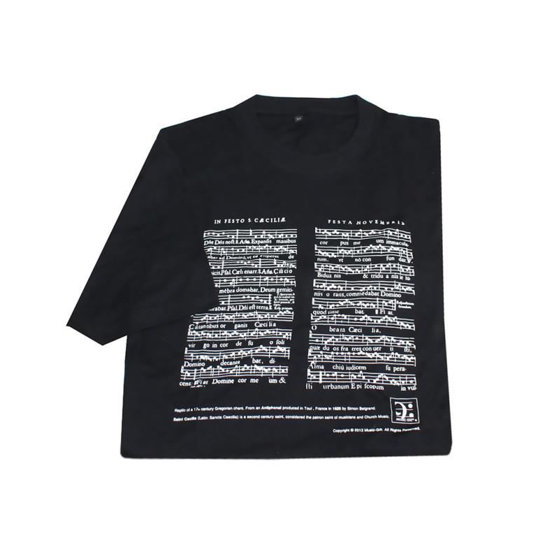 MG-022P-T-shirt Sta Cecilia black