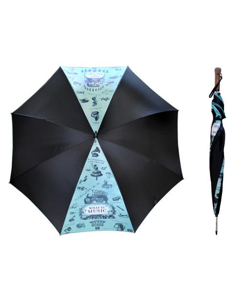 MG-1720-Musical Umbrella Black
