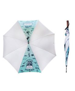 MG-1721-Musical Umbrella White