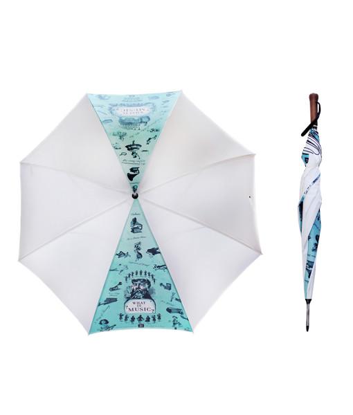 MG-1721-Musical Umbrella White