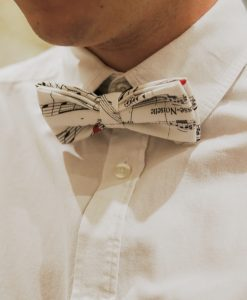 Bow tie & cufflinks